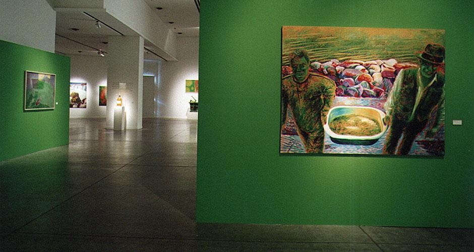 Uriburu, historical work. Image of the exhibition