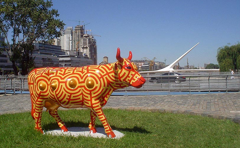 Madre Nutricia, 2006. Cow Parade Buenos Aires Puerto Madero, Buenos Aires