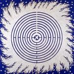 Laberinto sefirótico , 1997. Oleo sobre tela, 140 x 140 cm
