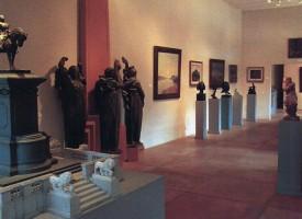Colección de pintura y escultura nacional. Imagen de la muestra.